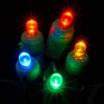 LED xmas lights make holiday decorating greener