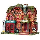 Kmart Christmas Lane includes ceramic villages & LED christmas decorations