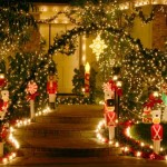 Sparkling Outdoor Christmas Lights for the Home