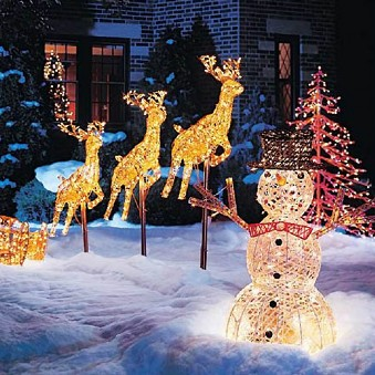 Outdoor Home Decor on Outdoor Christmas Decorations